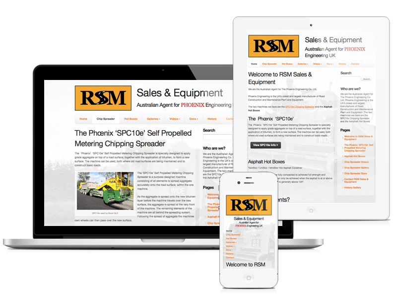RSM Sales and Equipment