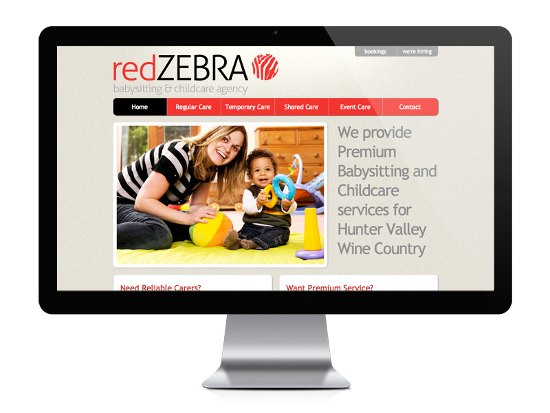 Red Zebra Desktop Site