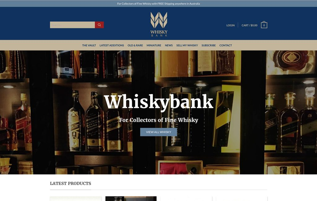 Whiskybank Home