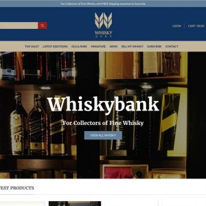 Whiskybank Home Feature